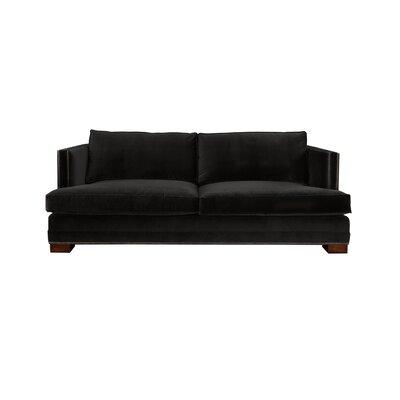 Calais Sofa Upholstery: Black
