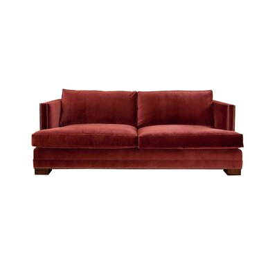 Calais Sofa Upholstery: Red