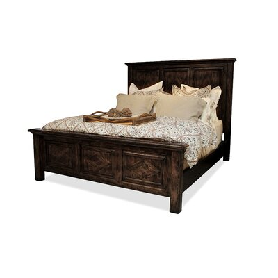 Panel Bed Finish: Espresso, Size: Queen