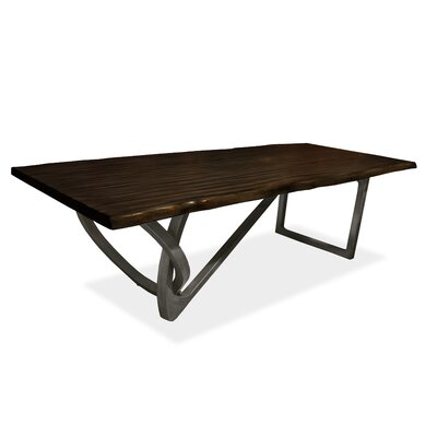 Milano Dining Table 96 inch Finish: Espresso