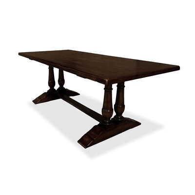 Ankara  84 Dining Table Finish: Espresso