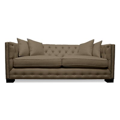 Bari 79 Sofa Upholstery: Brown