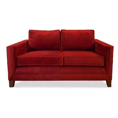 Cannes 60 Sofa Upholstery: Red