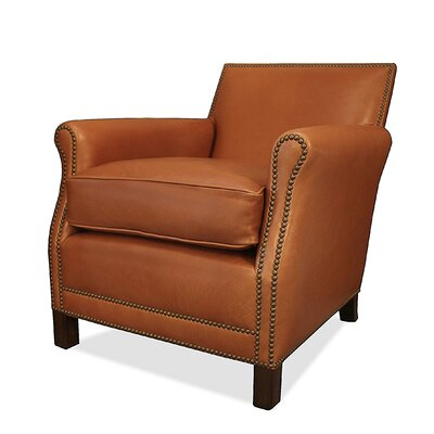 Salzburg Club Chair Upholstery: Caramel