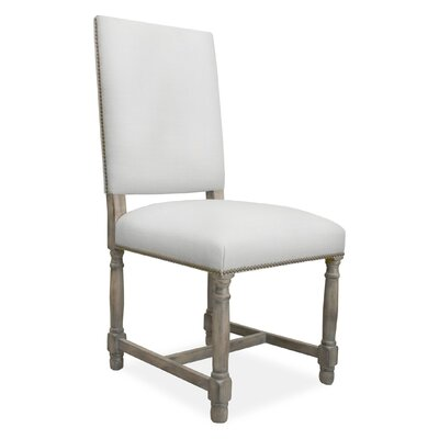 Lincoln Side Chair Upholstery: White