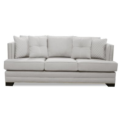 West Lux Loveseat Upholstery: Sand