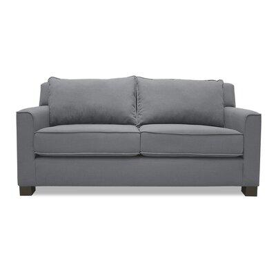 Linton Loveseat Upholstery: Gray