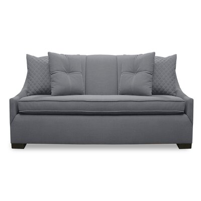 Valentine Lux Sofa Upholstery: Gray