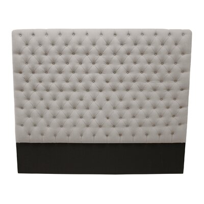 Franck Upholstered Panel Headboard Upholstery: Sand, Size: King