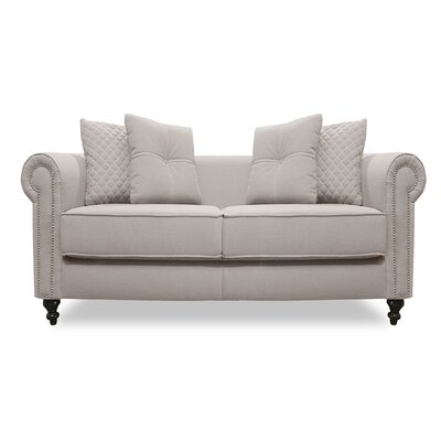 Gautier Lux Loveseat Upholstery: Sand