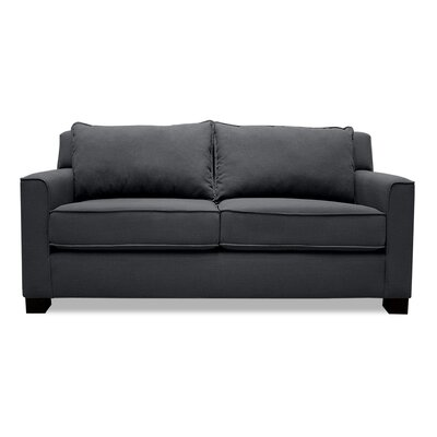 Linton Loveseat Upholstery: Charcoal