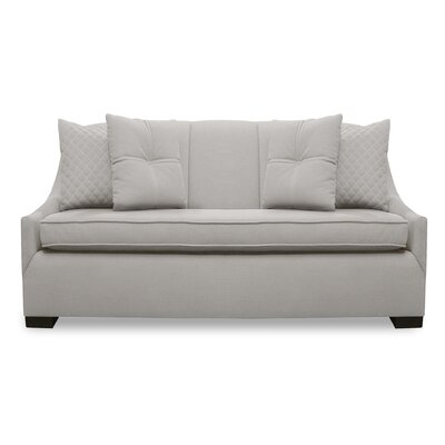 Valentine Lux Sofa Upholstery: Sand