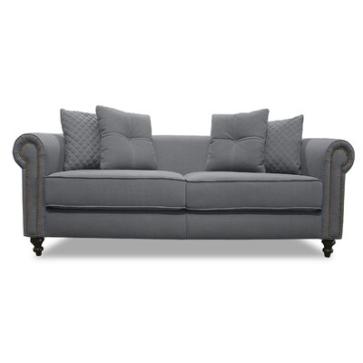 Gautier Lux Sofa Upholstery: Gray