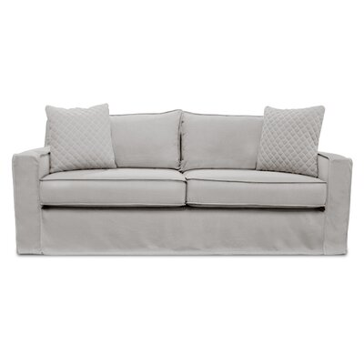 The William Slipcover Sofa Upholstery: Sand