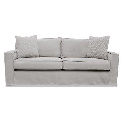 The William Slipcover Sofa Upholstery: Sand