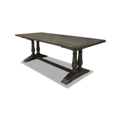 Ankara  84 Dining Table Finish: Grey