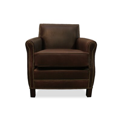 Salzburg Club Chair Upholstery: Chocolate