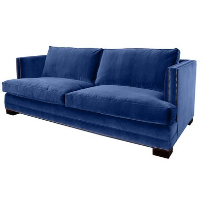 Calais Sofa 108 Upholstery: Blue