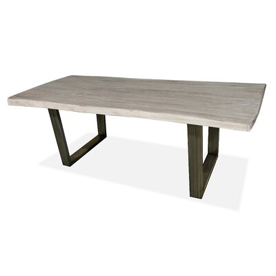 Prague Dining Table 72 inch Finish: White
