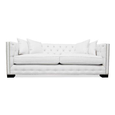 Bari 94 Sofa Upholstery: White