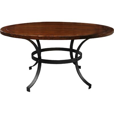 Santa Barbara Dining Table 60 Finish: Cognac