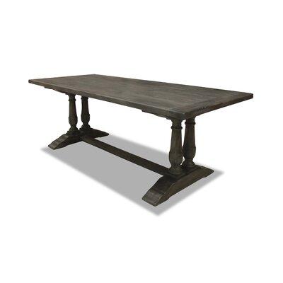 Ankara Dining Table 90 inch Finish: Grey