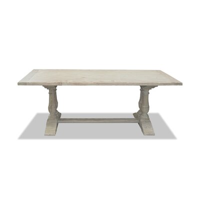 Ankara Dining Table 96 Finish: White