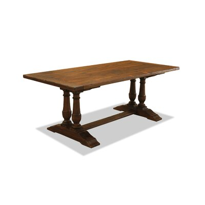 Ankara Dining Table 90 Finish: Cognac