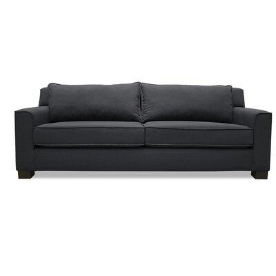 Linton Sofa Upholstery: Charcoal