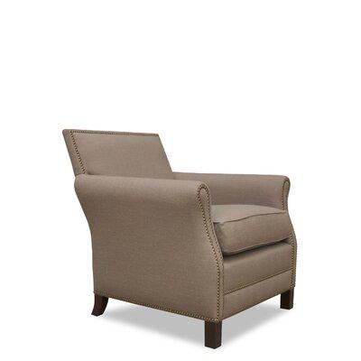 Bristol Arm Chair Color: Brown