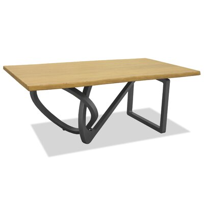 Milano Dining Table 96 inch Finish: Maple