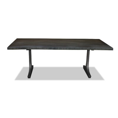 New England Dining Table Top Finish: Gray