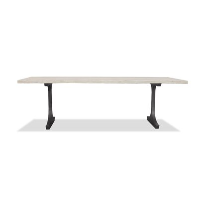 New England Dining Table Top Finish: White