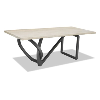 Milano Dining Table 84 inch Finish: White