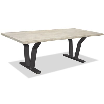 New Orleans Dining Table Top Finish: White