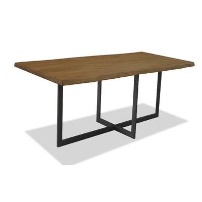 Caroline Dining Table Top Finish: Smoke