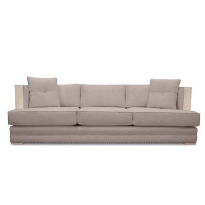 Marion Vintage Linen Sofa Finish: Cashmere