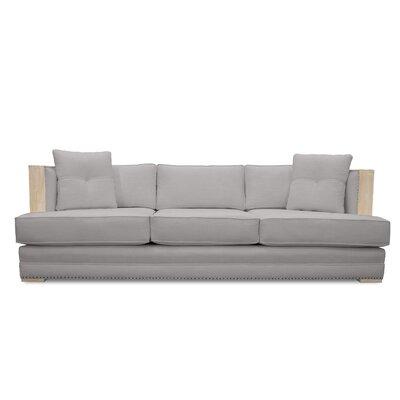 Marion Vintage Linen Sofa Finish: Linen