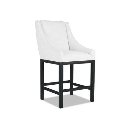 Moss 30 Bar Stool Upholstery: White
