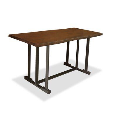 San Francisco Pub Table Top Color: Dry Cognac, Size: 42 H x 60 L x 40 W