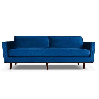 Clayton 60 Sofa Upholstery: Blue