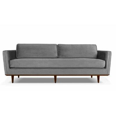 Clayton 60 Sofa Upholstery: Charcoal