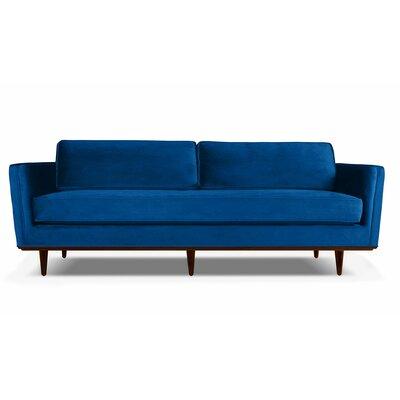 Clayton 84 Sofa Upholstery: Blue