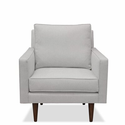Cleo Arm Chair Upholstery: Linen