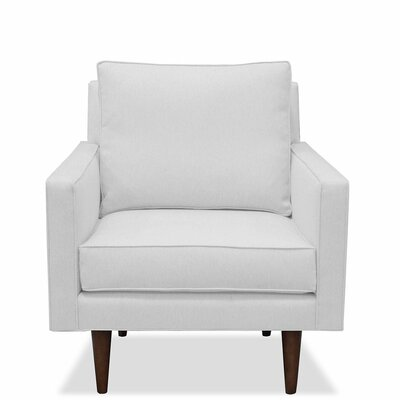 Cleo Armchair Upholstery: White