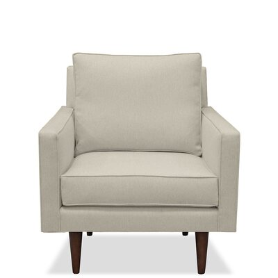 Cleo Arm Chair Upholstery: Sand