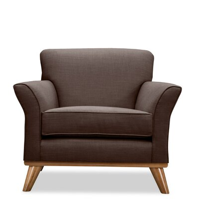 Jay Arm Chair Upholstery: Coffee