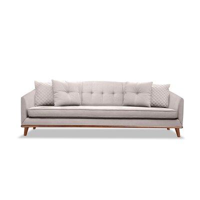 Roy 72 Sofa Upholstery: Kashmir