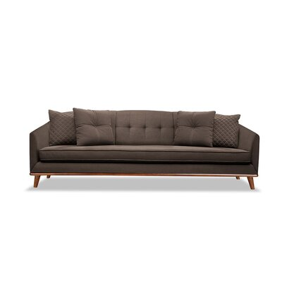 Roy 72 Sofa Upholstery: Coffee