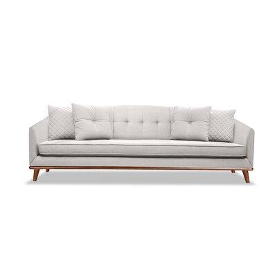 Roy 84 Sofa Upholstery: Linen